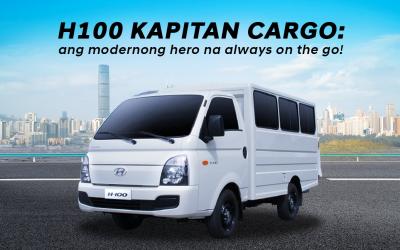 H100 Kapitan Cargo: ang modernong hero na always on the go